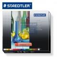 德國STAEDTLER施德樓2430 C24 24色karat頂級繪圖工作室粉彩蠟筆