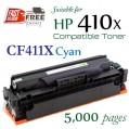 Monster HP 410X Cyan (CF411X) 藍色代用碳粉 Toner