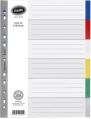 BANTEX A4 6色膠質索引分類 #6006