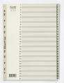 BANTEX A4 灰色膠質索引分類 1-31 #6212