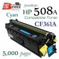 Monster HP 508A Cyan (CF361A) 藍色代用碳粉 Toner 一支
