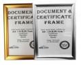 A4 鋁合金摺合式證書架/ 勞工保險架 (金色)