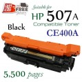 Monster HP 507A Black (CE400A) 黑色代用碳粉 Toner