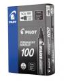 PILOT SCA-100箱頭筆(圓咀) 黑色(12支)