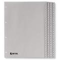 BANTEX 6217 A4 膠質數目索引分類 1-100