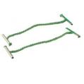 綠色快勞繩10吋/254毫米