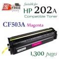 Monster HP CF500A CF501A CF502A CF503A (202A) 代用碳粉 Toner 一套