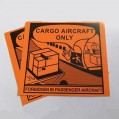 CARGO AIRCRAFT ONLY LABEL (每包100個).