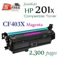 Monster HP 201X Magenta (CF403X) 1盒特惠裝