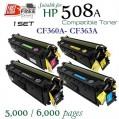 Monster HP 508A Set (CF360A-CF363A) 代用碳粉 Toner 一套