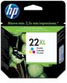 HP 22XL 三色噴墨列印墨盒 (C9352CA)