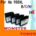 Monster 932XL黑色,933XL彩色(Colour)4個裝