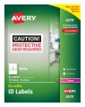Avery Durable ID Labels, Permanent Adhesive, 5
