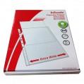 ESSELTE 656133 快勞套/文件保護套 A4 11孔 透明 100個/包