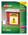 Avery Durable ID Labels, Permanent Adhesive, 8-1/2