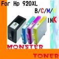 Monster 920XL黑色,彩色(Colour)4個裝
