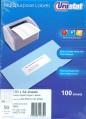 Unistat 電腦標籤貼紙 (100張)