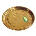 金色圓形托盤 (32MM 直徑)