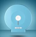 MONSTER 大卷廁紙架 (免鑽孔) MO-51018 藍色