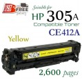 Monster HP 305A Yellow (CE412A) 黃色代用碳粉 Toner