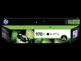 HP 970XL 高容量黑色原廠墨盒 (CN625AA)