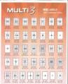 Multi 3多用途A4標籤紙(白色) (100張裝) 歐洲製造 (10盒優惠裝)