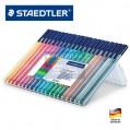 德國STAEDTLER施德樓323 SB20 20色水彩筆EN71環保健康筆頭加固