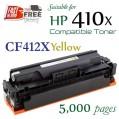 Monster HP 410X Yellow (CF412X) 黃色代用碳粉 Toner