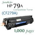 Monster 代用碳粉 MT-CF279A (10盒裝震撼特價) 79A